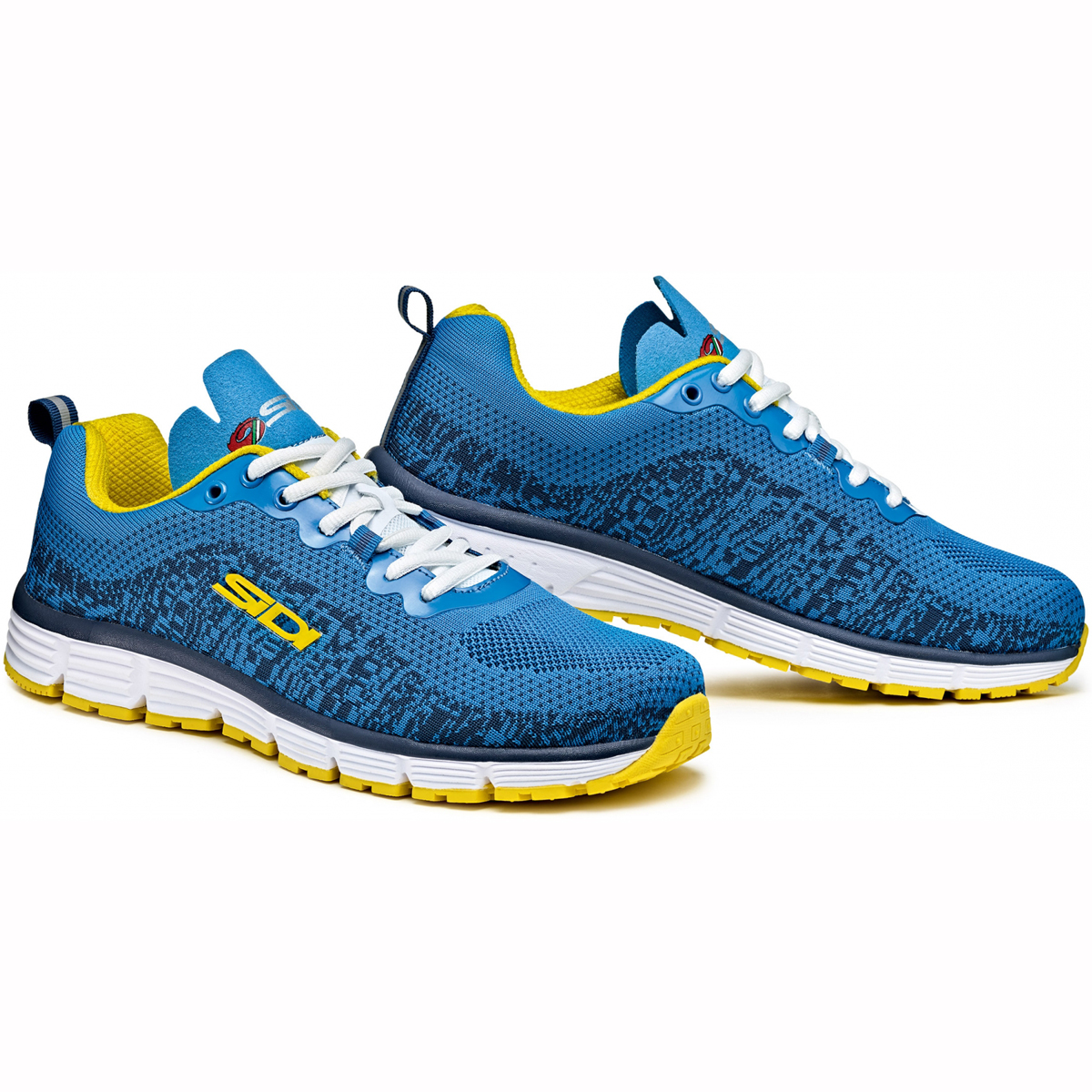 cheapest sidi gossip casual shoes blue yellow white